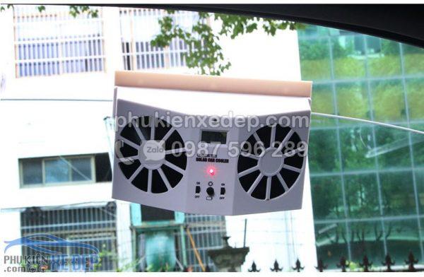 Quạt hút khí nóng ô tô năng lượng mặt trời 9