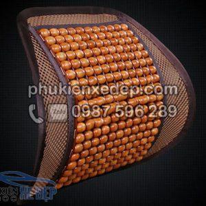 Tấm lưới tựa lưng ghế ô tô Hạt Gỗ 1