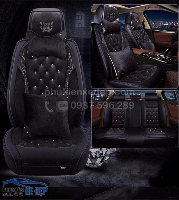 Áo ghế ô tô 6D – Mẫu 14