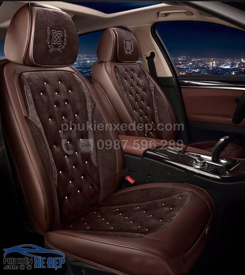 Áo ghế ô tô 6D – Mẫu 16