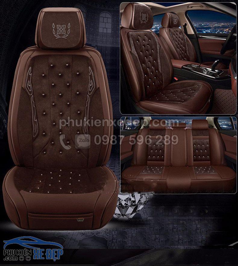Áo ghế ô tô 6D – Mẫu 17