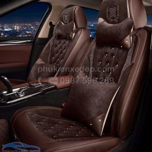 Áo ghế ô tô 6D – Mẫu 18