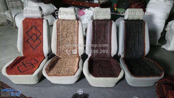 Lót ghế hạt Bồ Hòn 1