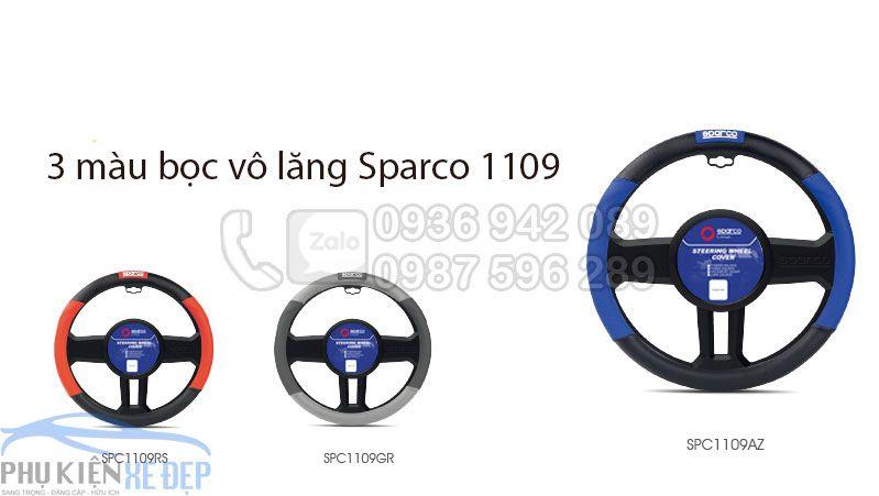 Bọc vô lăng Sparco chính hãng 1109