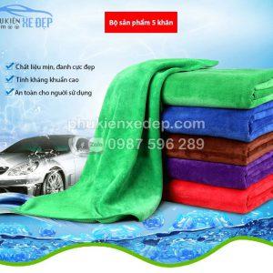 khăn lau xe ô tô chuyên dụng