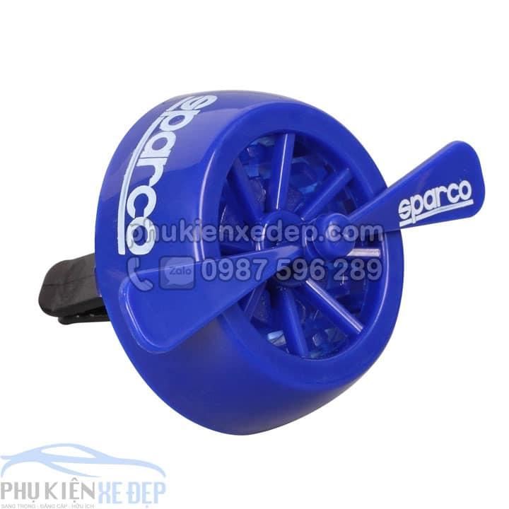 tinh dầu khô sparco turbine hình cánh quạt hương xe mới