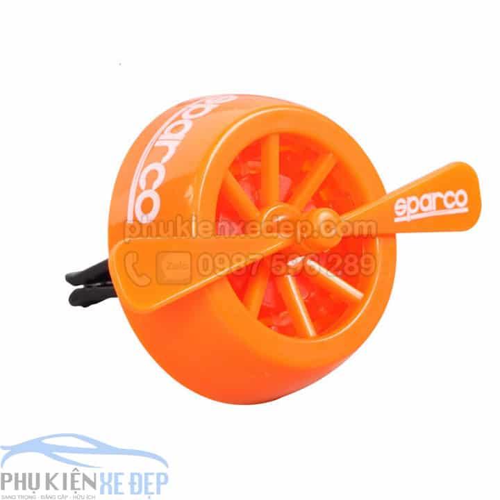 tinh dầu khô sparco turbine hình cánh quạt hương cam