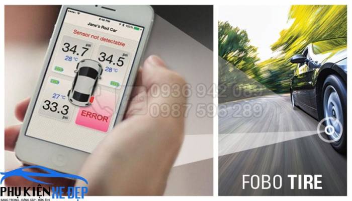 Cảm biến áp suất lốp FOBO TIRE chính hãng