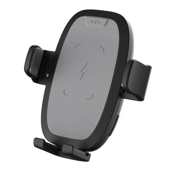 Giá đỡ điện thoại kiêm sạc không dây kẹp cửa gió ô tô