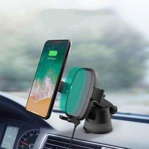 Giá đỡ điện thoại kiêm sạc không dây