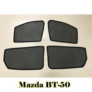 Bộ rèm che nắng nam châm cửa bên theo xe Mazda BT-50