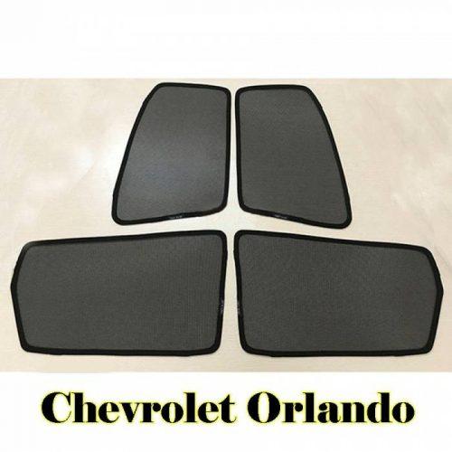 Combo 4 tấm che nắng cửa bên nam châm theo xe Chevrolet Orlando