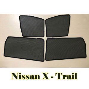 Bộ rèm che nắng cửa bên nam châm theo xe Nissan X-Trail