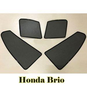 Combo 4 tấm che nắng nam châm cửa bên theo xe Honda Brio