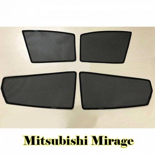 Combo 4 tấm che nắng nam châm theo xe Mirage
