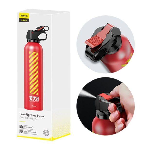 Bình chữa cháy mini Baseus trên ô tô
